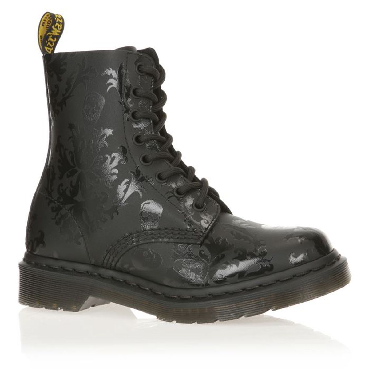 dr martens bottines cuir reinventd cassidy femme femme noir achat vente dr martens. Black Bedroom Furniture Sets. Home Design Ideas