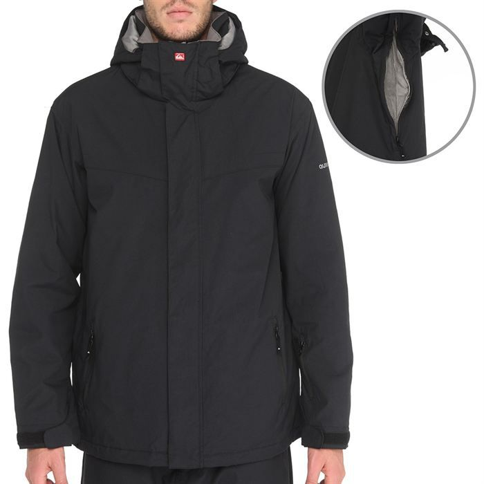 quiksilver veste ski last mission plain homme achat vente veste cache c ur quiksilver last. Black Bedroom Furniture Sets. Home Design Ideas
