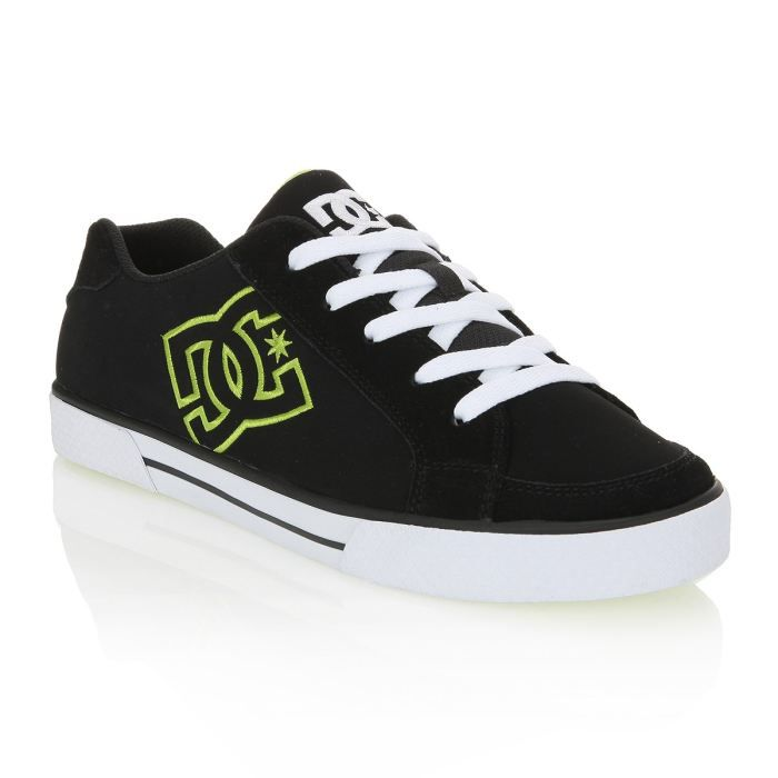 dc shoes skate shoes empire homme homme noir blanc et. Black Bedroom Furniture Sets. Home Design Ideas