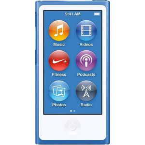 LECTEUR MP4 NEW APPLE iPod Nano 16Go Blue