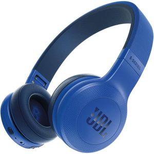 CASQUE - ÉCOUTEURS JBL E 45 bluetooth Bleu casque supra-auriculaire