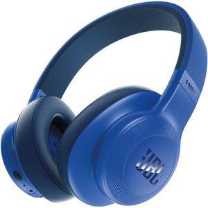 CASQUE - ÉCOUTEURS JBL E 55 Bluetooth Bleu casque supra-auriculaire