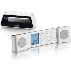 Téléphone fixe SWISSVOICE E Pure V2 black white
