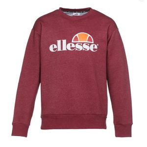 SWEATSHIRT ELLESSE Sweatshirt col rond - Homme - Rouge bordea