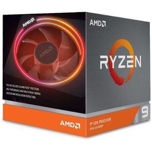 PROCESSEUR AMD Processeur Ryzen 9 3900X Wraith Prism cooler