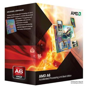PROCESSEUR AMD A6 3670K Black Edition 2.7GHz