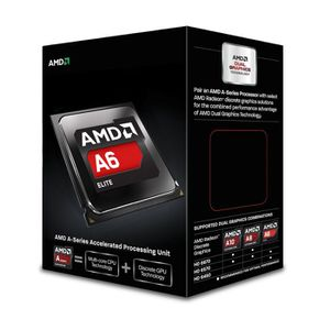 PROCESSEUR AMD A6 6400K BE 4.1GHz    AD640KOKHLBOX