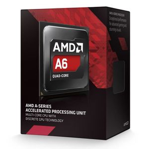 PROCESSEUR AMD A6 7400K 3.5GHz    AD740KYBJABOX