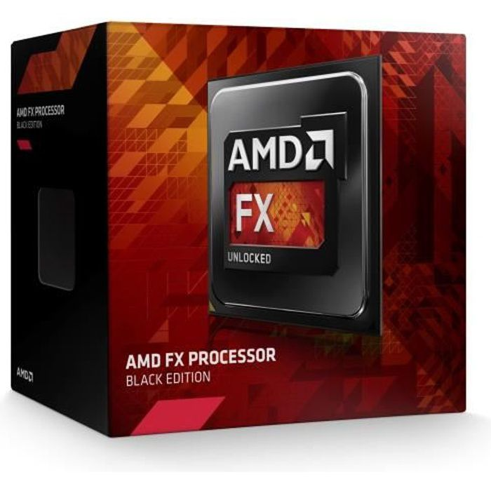 PROCESSEUR AMD FX 8350 Black Edition 4.0GHz