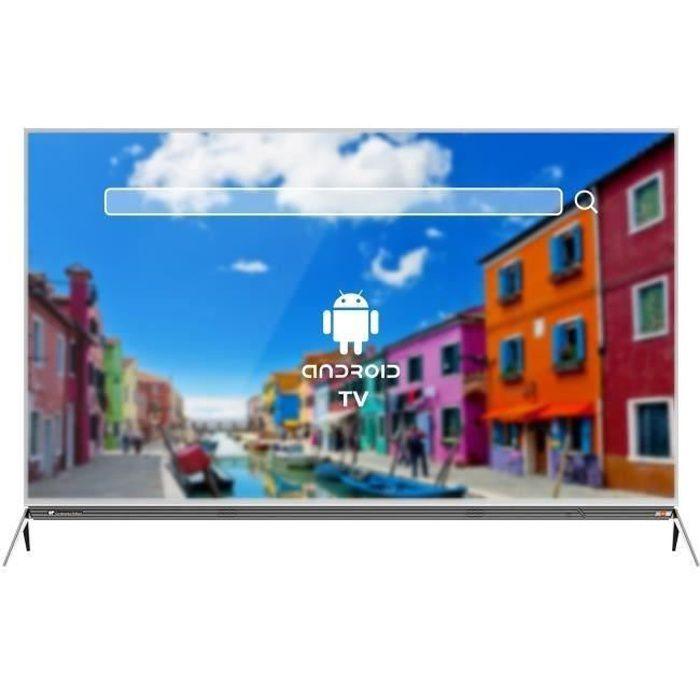 Téléviseur LED CONTINENTAL EDISON TV 49' 4K UHD SMART Barre de So