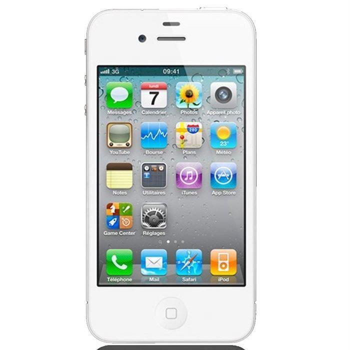 SMARTPHONE IPHONE 4 16Go Blanc Tout opérateur