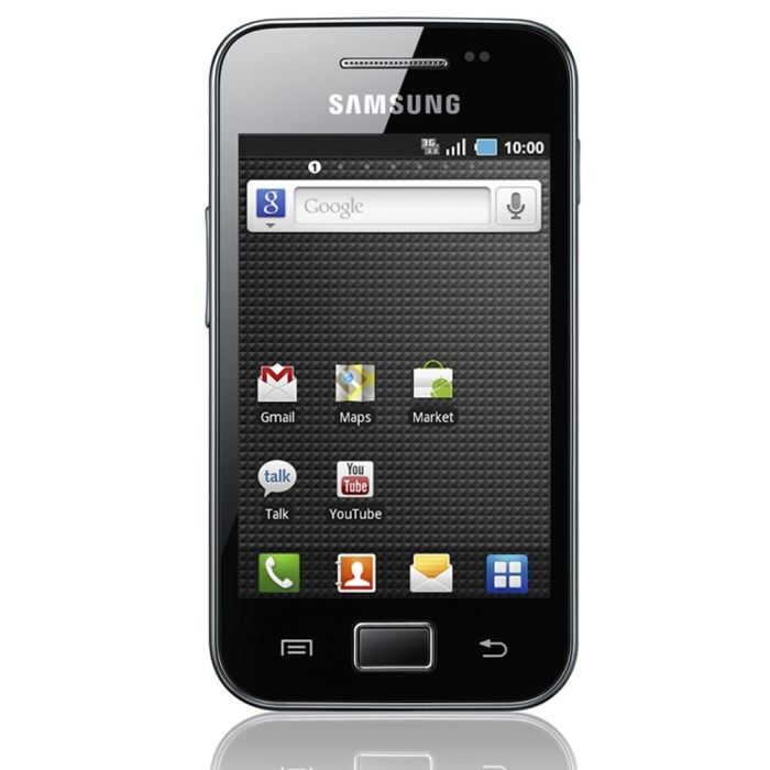 samsung s5830 galaxy ace noir tout op rateur achat. Black Bedroom Furniture Sets. Home Design Ideas