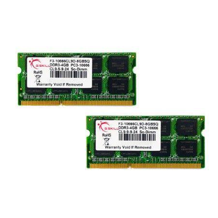 MÉMOIRE RAM G.SKILL Mémoire PC - DDR3 - Kit 4 Go (2 x 2 Go) -