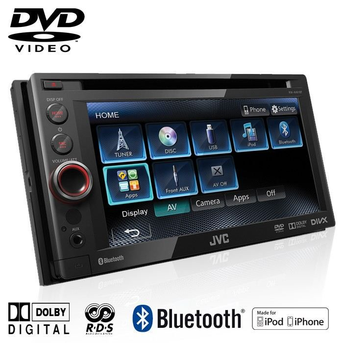 jvc kw av61bte autoradio dvd 2 din 6 1 pouces usb achat vente autoradio jvc kw av61bte. Black Bedroom Furniture Sets. Home Design Ideas