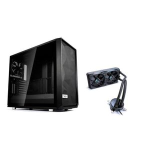 BOITIER PC  Pack Fractal Design Boîtier PC Meshify S2 Blackout