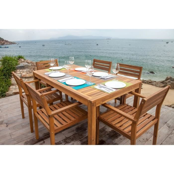 Table de jardin en solde hoze home for Solde ensemble de jardin