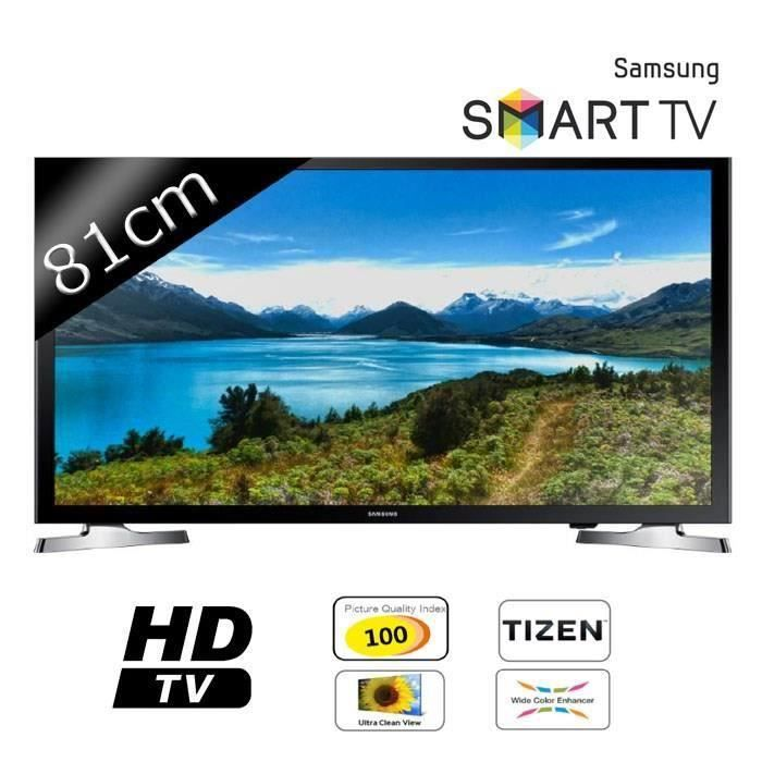 destockage samsung ue32j4500 smart tv led hd 81cm 32. Black Bedroom Furniture Sets. Home Design Ideas