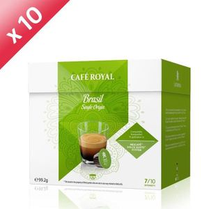 CAFÉ 160 capsules CAFÉ ROYAL de café Single Origine Bré