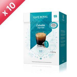 CAFÉ 160 capsules CAFÉ ROYAL de café Single Origine Col