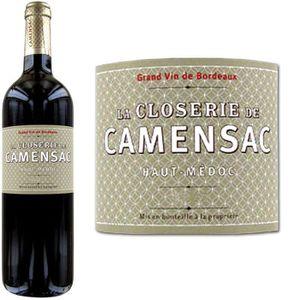 VIN ROUGE La Closerie de Camensac 2011 Haut-Médoc -Vin rouge
