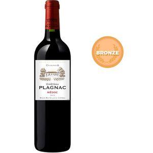 VIN ROUGE Château Plagnac 2012 Médoc 2012 - Vin rouge de Bor