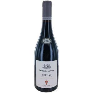 VIN ROUGE Les Petites Cabanes 2015 Cornas - Vin rouge du Rhô