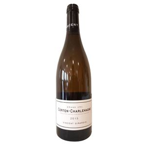 VIN BLANC Vincent Girardin 2015 Corton-Charlemagne Grand Cru