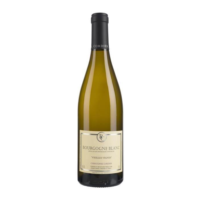 VIN BLANC Christophe Cordier 2017 Bourgogne Vieilles Vignes