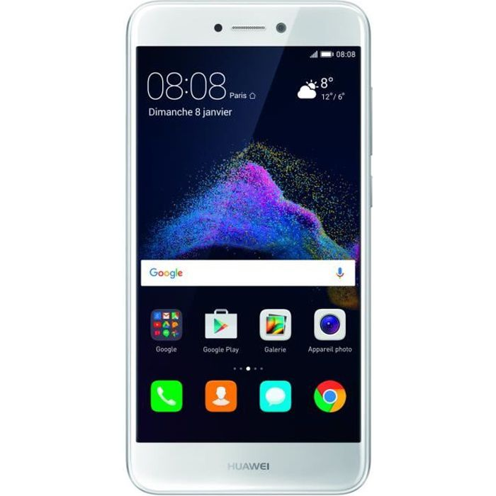 huawei p8 lite 2017 blanc achat smartphone pas cher. Black Bedroom Furniture Sets. Home Design Ideas