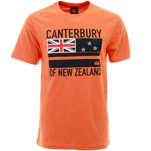 MAILLOT DE RUGBY CANTERBURY T-shirt Flag Rugby Homme