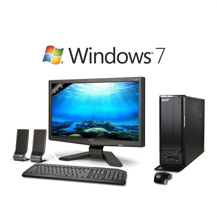acer aspire x3812 uf7y cran 21 5 tft x223hq achat. Black Bedroom Furniture Sets. Home Design Ideas