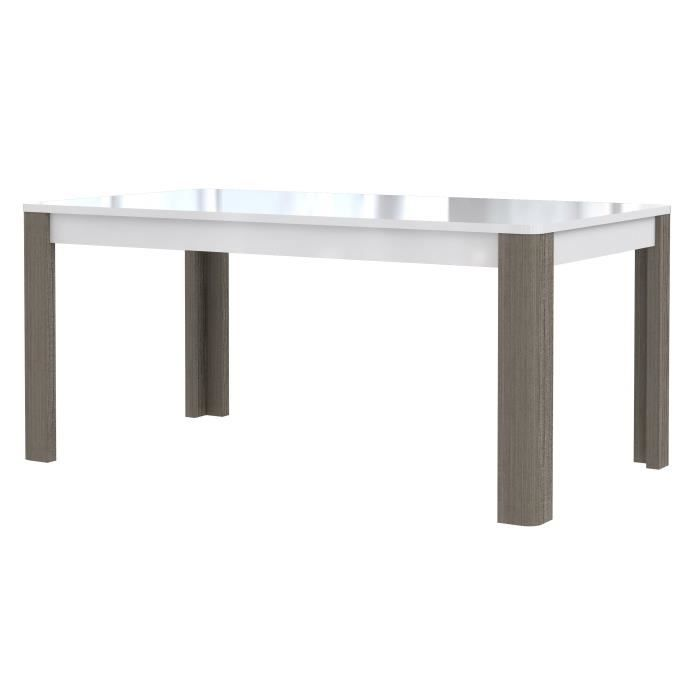 Calimero table manger extensible 8 12 personnes 160 for Table manger extensible
