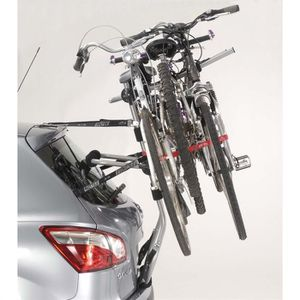 Porte-vélos GRV E-Bike sur hayon 2 Vélos Attelage Vélo Sur Hayon Porte-vélos
