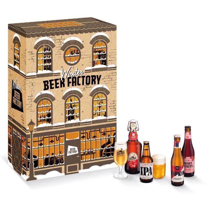 BIÈRE Coffret bières Winter Beer Factory 18 bières craft