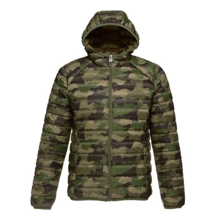 JOTT Doudoune Nico Homme Camouflage