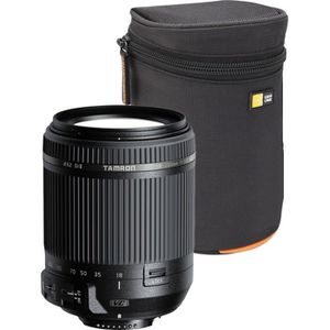 OBJECTIF TAMRON objectif 18-200 mm compatible Canon + Etui