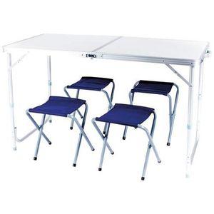 MEUBLE DE CAMPING CAO CAMPING  Table valise avec 4 sièges