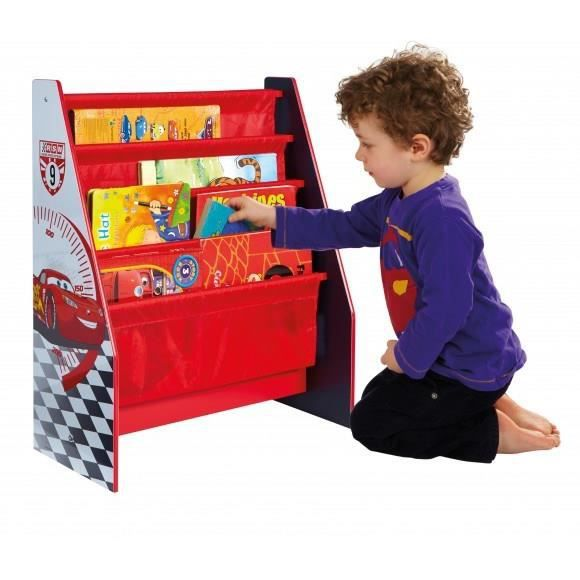 cars biblioth que enfant en bois achat vente armoire. Black Bedroom Furniture Sets. Home Design Ideas