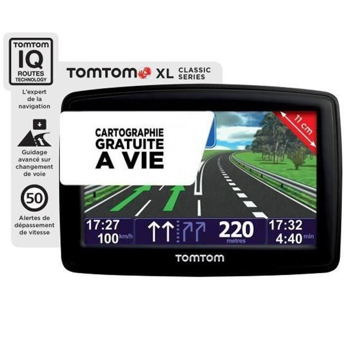 gps tomtom xl classic europe carte vie achat vente gps auto gps tomtom xl classic europe. Black Bedroom Furniture Sets. Home Design Ideas