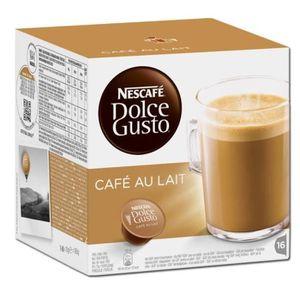 CAFÉ DOLCE GUSTO Café au Lait 16 Capsules 160g