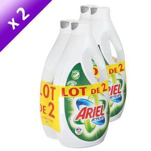 LESSIVE ARIEL Liquide Régulier 2x25 doses (x2)