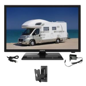 Téléviseur LED OCEANIC TV LED Camping Car + Support TV mural incl