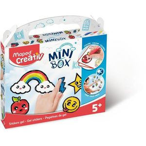 JEU DE STICKERS MAPED CREATIV - Mini Box - Stickers Gel (Peinture