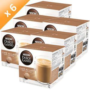 CAFÉ DOLCE GUSTO Café au Lait 16 Capsules 160g (x6)