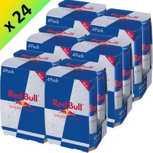 SODA-THE GLACE RED BULL Energy Drink 24x35cl