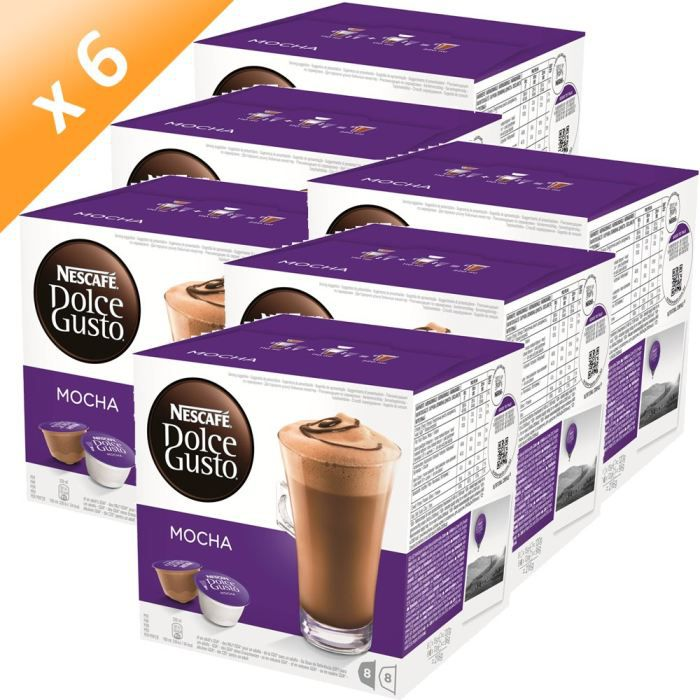 dolce gusto mocha 16 capsules 216g x6 achat vente. Black Bedroom Furniture Sets. Home Design Ideas