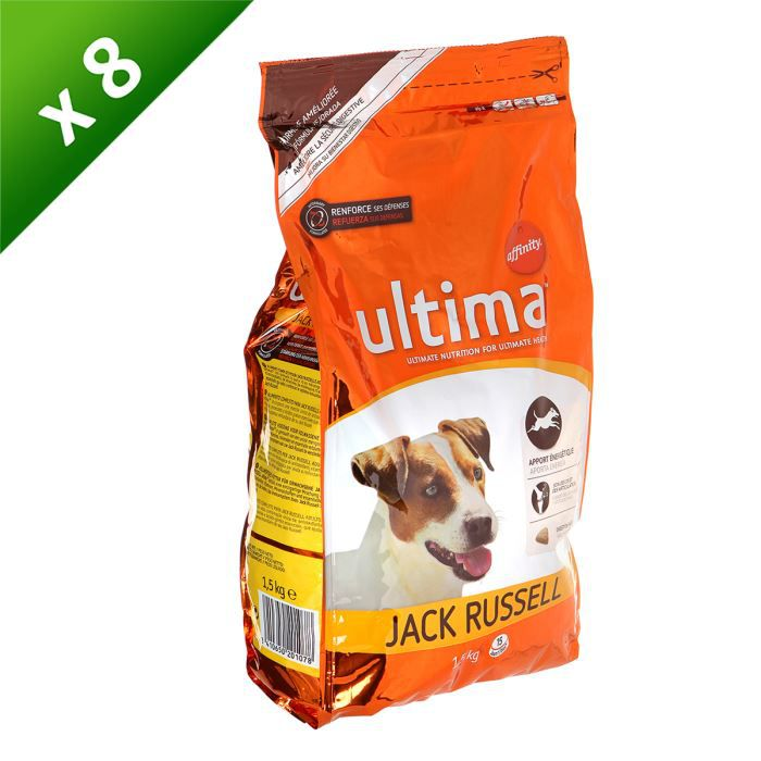 ultima jack russel 1 5kg x8 achat vente croquettes pcb8 ultima jack 1 5kg cdiscount. Black Bedroom Furniture Sets. Home Design Ideas