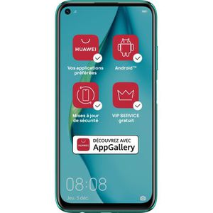 SMARTPHONE HUAWEI P40 Lite Jenny Crush Bleen 128 Go (Services