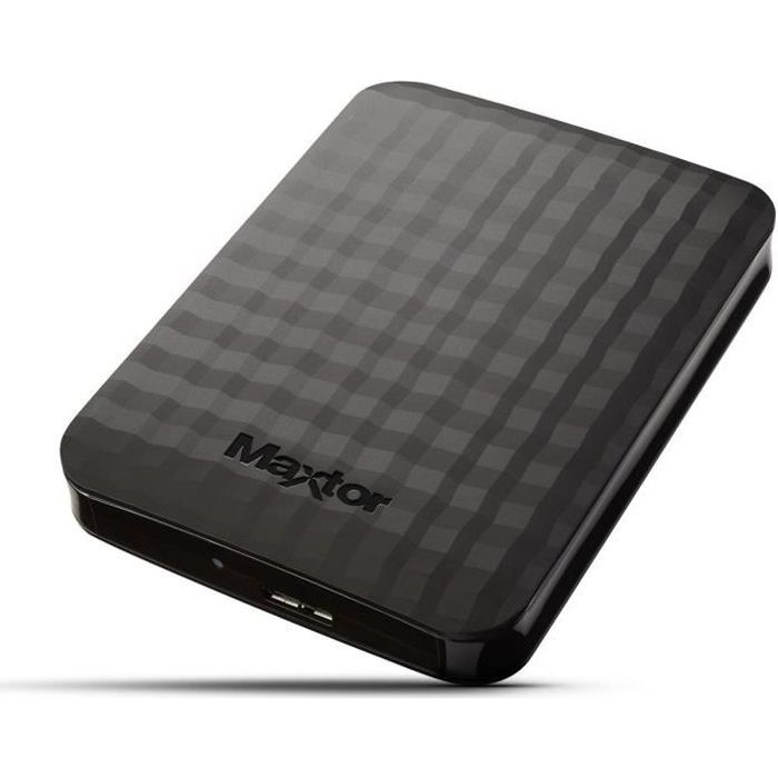 MAXTOR M3 Disque dur externe STSHX-M201TCBM - 2To - USB 3.0 - 2.5""