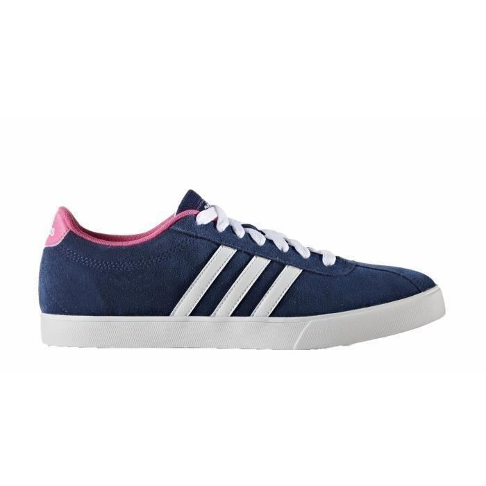 Adidas courtset blanc | baskets sneakers tennis femme
